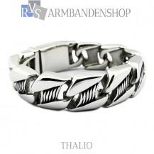 """Rvs stalen armband """"Thalio""""."""
