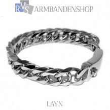 "Rvs armband ""Layn"" 21.3 cm."
