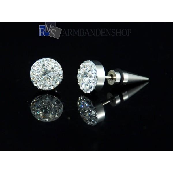 oorringen met diamantjes