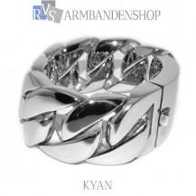 "Rvs stalen armband ""Kyan""."
