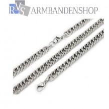 RVS sieraden set ketting + armband