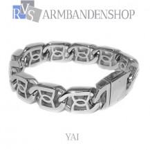 "Rvs stalen armband ""Yai"""
