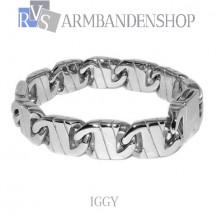 "Rvs stalen armband  ""Iggy""."