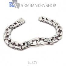 "Rvs armband Eloy"" 22 cm."""