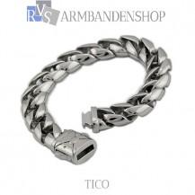 "Rvs stalen armband ""Tico""."