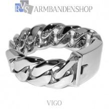 """Rvs stalen armband """"Vigo""""."""
