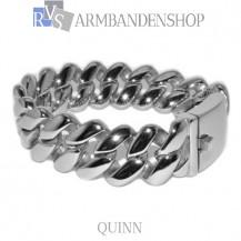 "Rvs stalen armband ""Quinn""."