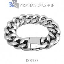 "Rvs stalen armband ""Rocco""."