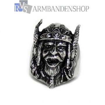 Rvs Thor ring.