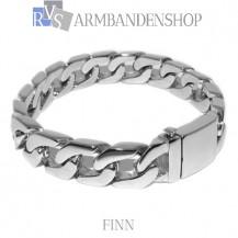 "Rvs stalen armband ""Finn""."