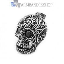 Grote rvs skull hanger