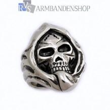 Rvs Skull ring.