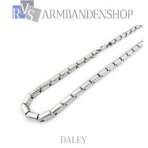 "Rvs ketting ""Daley""."