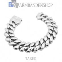 "Rvs stalen armband ""Tarek""."