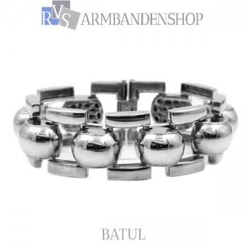 "Rvs stalen armband ""Batul""."